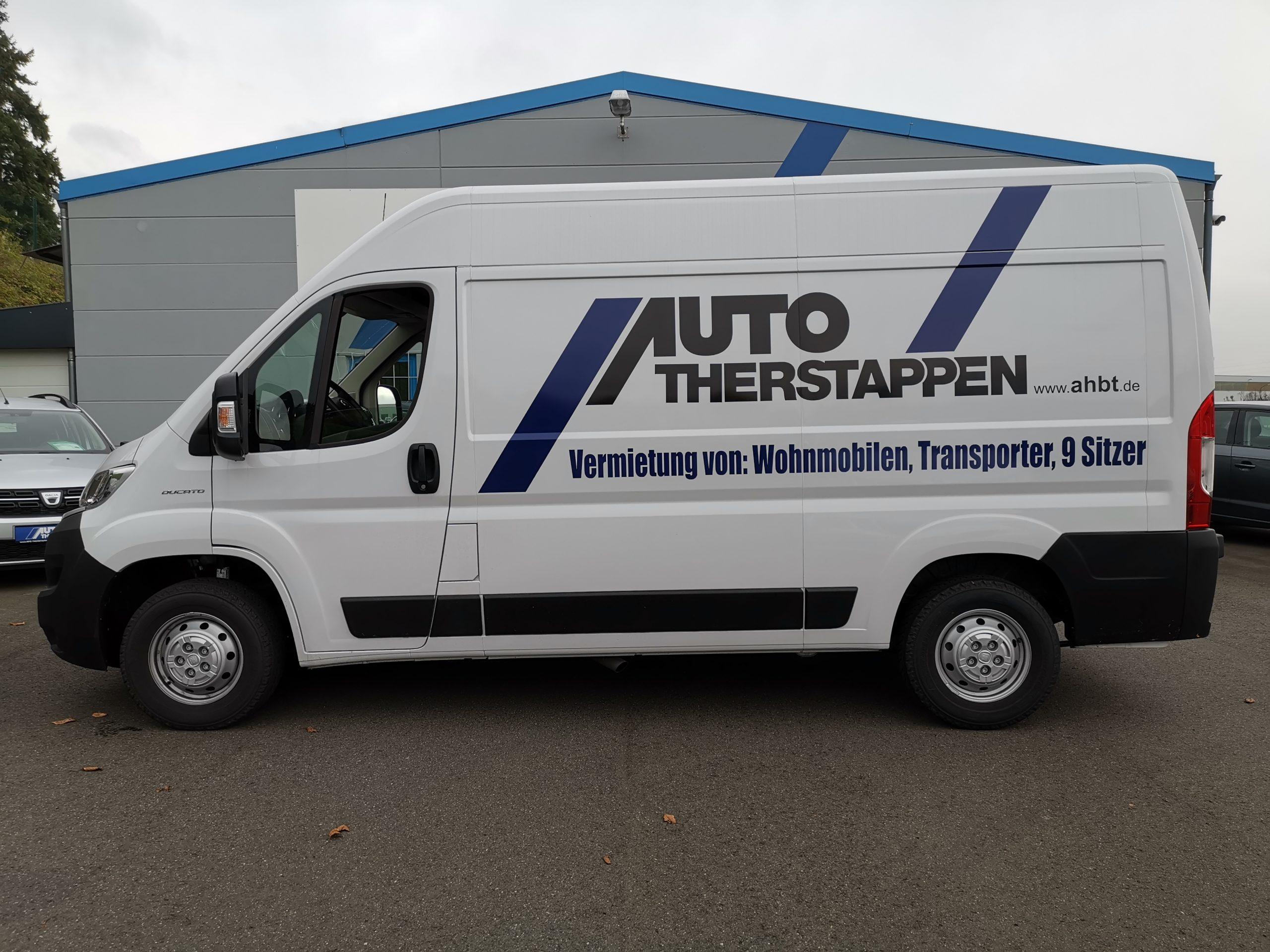 Transporter Fiat Ducato L2h2 Mieten Autohaus Therstappen